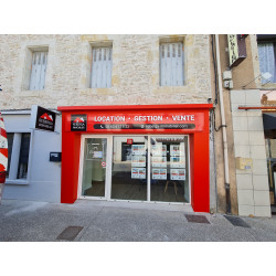 enseigne bandeau agence immobiliere